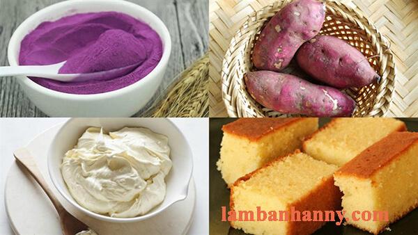 Cách làm bánh tiramisu từ đậu hũ và khoai lang tím cực ngon cực đơn giản 2