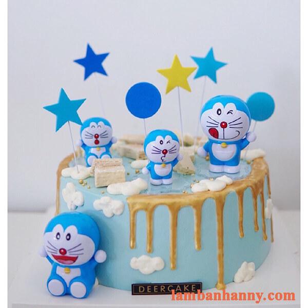 Doremon trang trí bánh kem 5