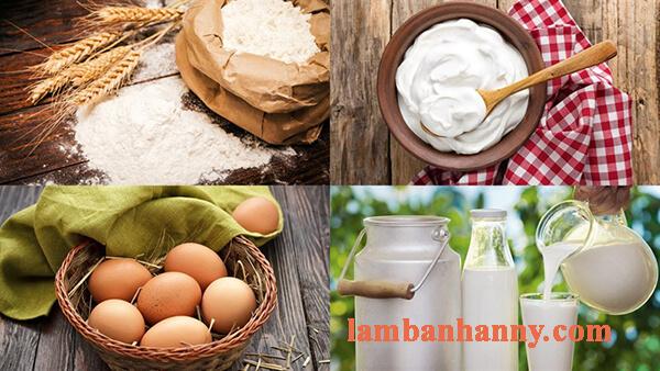 Hướng dẫn cách làm bách su kem sữa tươi không cần lò nướng béo ngọt đơn giản 2