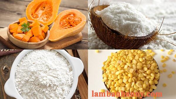Hướng dẫn cách làm bánh bí đỏ dừa hấp thơm ngon bổ dưỡng 2