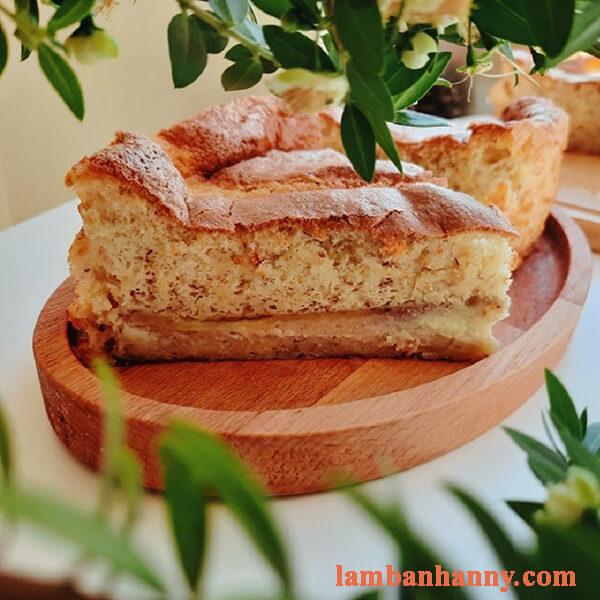 Hướng dẫn cách làm bánh bông lan chuối nước cốt dừa mềm mịn ngon khó cưỡng 3