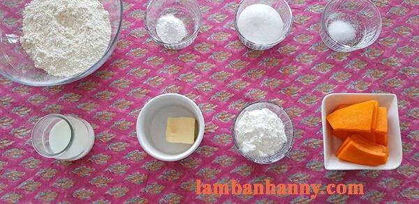Hướng dẫn cách làm bánh bao bí đỏ thơm ngon mềm mịn đơn giản tại nhà 2