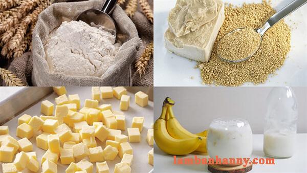 Hướng dẫn cách làm bánh bao nhân custard chuối thơm ngon béo ngậy 2