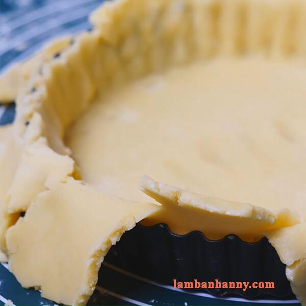 Hướng dẫn cách làm bánh tart bưởi hồng thơm ngon lạ miệng 4