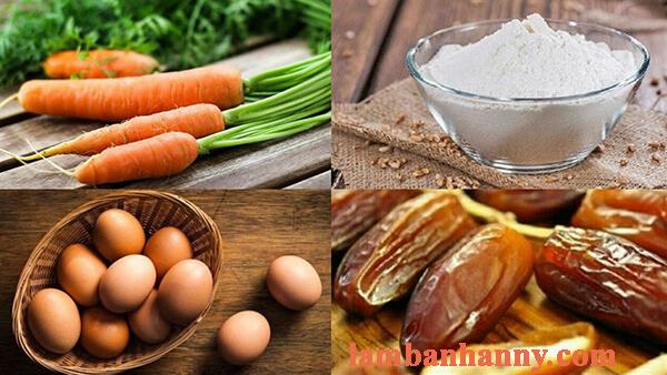 Hướng dẫn cách làm muffin cà rốt chà là thơm ngon bỗ dưỡng 2