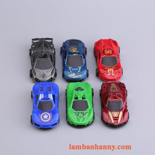 Set 6 xe ô tô trang trí bánh 3