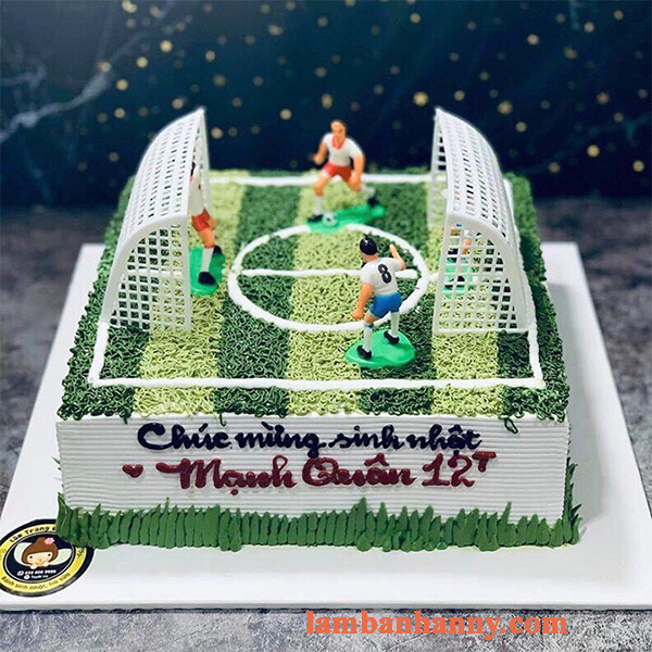 Set bóng đá trang trí bánh kem 3