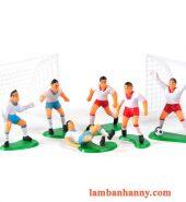 Set mô hình bóng đá trang trí bánh kem