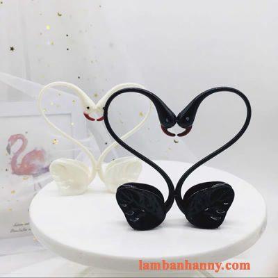 Thiên nga đen trang trí bánh 3