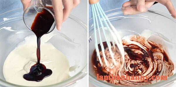 cach lam banh cheese cake ca phe 15