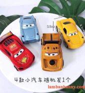 Set 4 xe Ô Tô trang trí bánh kem