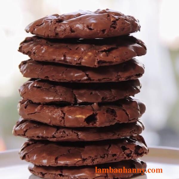2 cách làm bánh quy socola không cần bột mì thơm ngon và lạ miệng 4