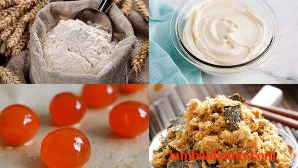 Bật mí cách làm bánh bông lan phô mai kim sa tan chảy thơm ngon đơn giản 2