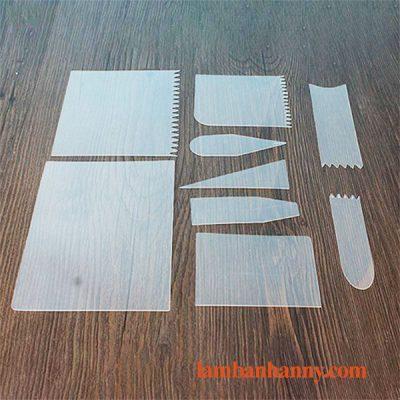 Bộ 9 miếng chà láng nhựa mỏng 1
