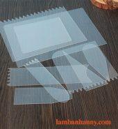 Bộ 9 miếng chà láng nhựa mỏng