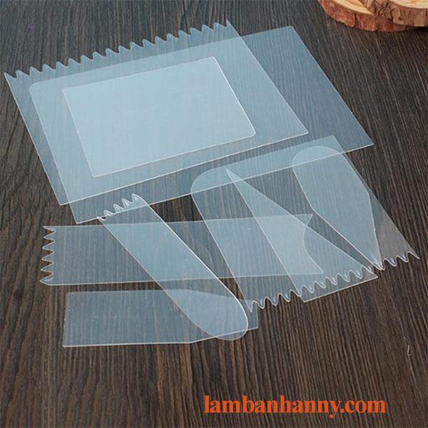 Bộ 9 miếng chà láng nhựa mỏng 3