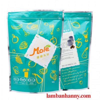 Bột pudding vị khoai môn hiệu Mole 1