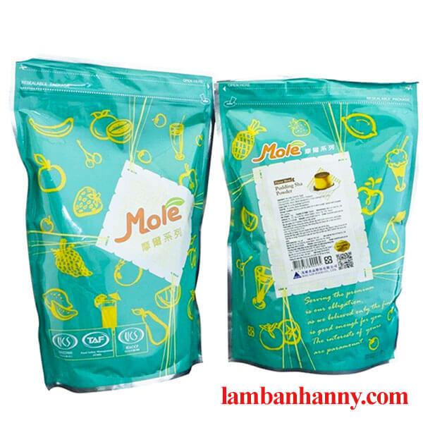 Bột pudding vị trứng hiệu Mole 1