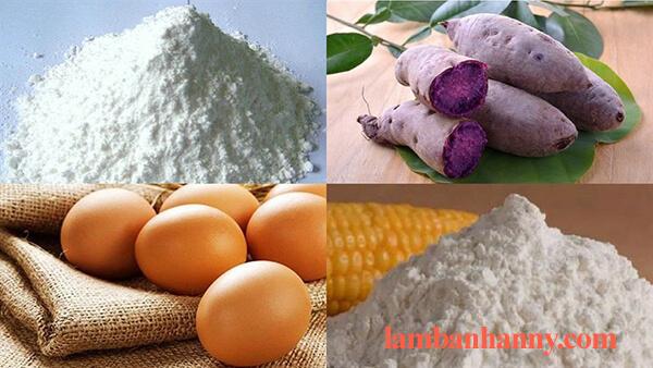 Cách làm bánh bông lan cuộn khoai lang tím thơm ngon đơn giản dễ làm 2