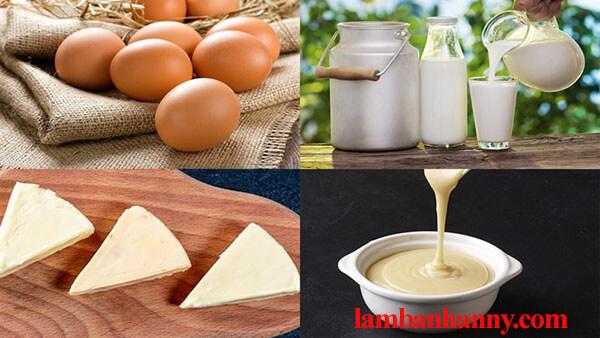 Cách làm rau câu flan phô mai cheese nhiều lớp thơm ngon đơn giản 2