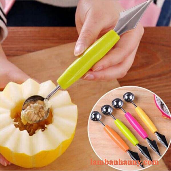 Dụng cụ cắt tỉa hoa quả 2 đầu 1
