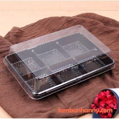 Hộp nhựa trung thu 6 bánh HT530 1