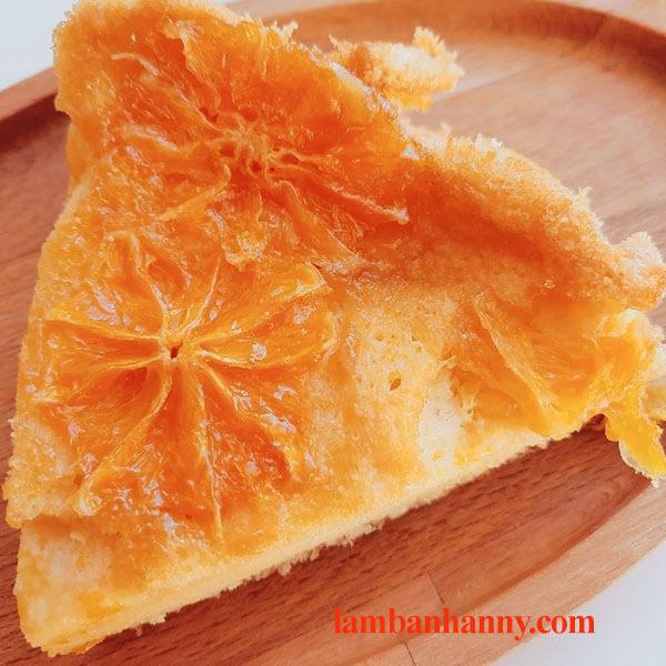 Hướng dẫn cách làm bánh bông lan cam tươi, mềm xốp thơm ngon khó cưỡng 3