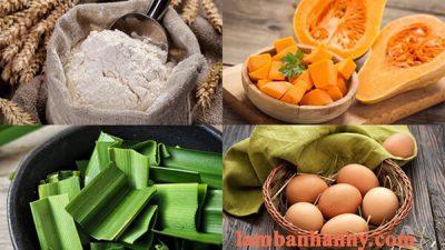 Hướng dẫn cách làm bánh crepe dừa từ lá dứa và bí đỏ vô cùng thơm ngon và bổ dưỡng 2