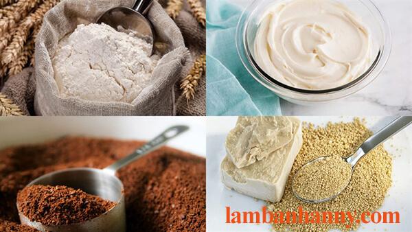Hướng dẫn cách làm bánh papparoti nhân kem phô mai thơm ngon béo ngậy 2