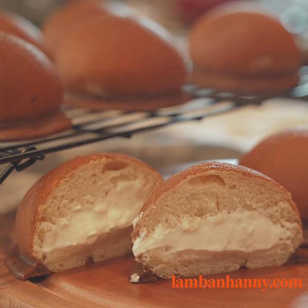 Hướng dẫn cách làm bánh papparoti nhân kem phô mai thơm ngon béo ngậy 4