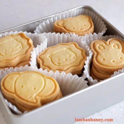 Hướng dẫn cách làm bánh quy hình thú không dầu đơn giản cho bé 3