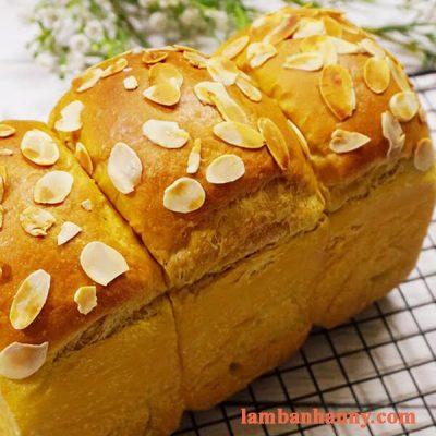 Hướng dẫn làm bánh mì gối vị xoài mật ong nướng thơm ngon mềm mịn đơn giản 4