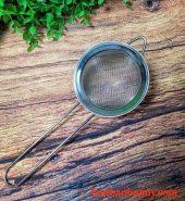 Rây bột cán dài inox đường kính 8cm