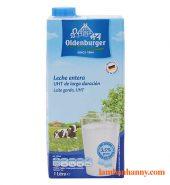 Sữa tươi tiệt trùng Nguyên kem 3.5% béo hiệu Oldenburger 1 Lít
