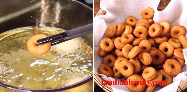 cach lam banh donut mini 5