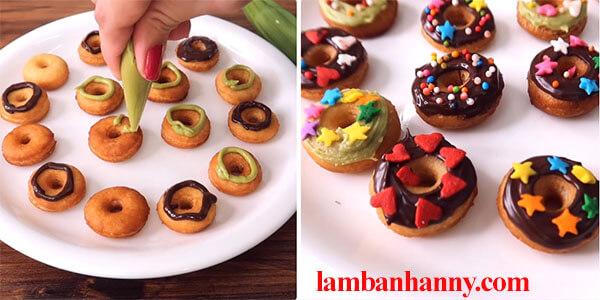cach lam banh donut mini 7